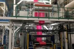 Beruházás: Világszínvonalú fújt fólia gyártó gépek beszerzése
